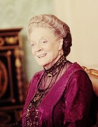 Maggie Smith #Downtown Abbey