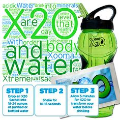 Getting essential trace minerals daily is as easy as 1-2-3! #Xooma #mineralrichalkalinewater #hydratingthenation #phbalance #changingthehealthofageneration