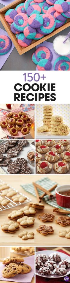 From the classic chocolate chip cookies to thumbprint and chewy ones, find more than 150 cookie recipes on wilton.com for any sweet celebration!