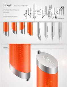 Google DRAW - Stylus for GLASS by Jorge Trevino Blanco, via Behance