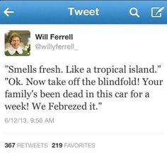 Will Ferrell's Tweet