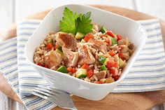 Tender, juicy and, some would say, more flavorful than breasts, chicken thighs make this BBQ Chicken & Rice Skillet one of our best-rated chicken recipes.