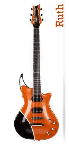 Viktorian Guitars - Ruth Status, body and neck one-piece ResoWeave™