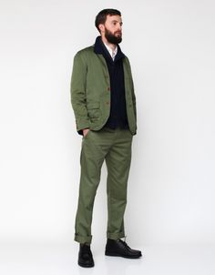 Standard Issue Civilian Chino In Olive - Need Supply Co.