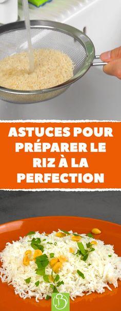 Voici comment réussir le riz parfait à coup sûr ! #riz #cuisine #bonap #astuces #cuisson #recette