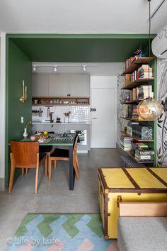 Scandinavian Style Home, Scandi Home, Apartment Interior, Kitchen Interior, Decor Interior Design, Interior Decorating, Amsterdam Apartment, Kitchen Seating, Bedroom Murals