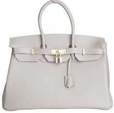 Italian Leather Birkin Inspired Handbag with Gold Trim and Free Matching Scarf (Gray) Glamorous Angels http://www.amazon.co.uk/dp/B0133FRXR6/ref=cm_sw_r_pi_dp_MvjXvb07HYR5E
