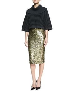 57c568915f6 I need the version of this that isn t  440. Sequin Pencil Skirt