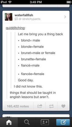 "All accurate, although ""brunet"" is very uncommon in the English language and doesn't appear to refer specifically to gender (however ""brunette"" is typically associated with being female)."