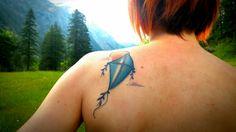 Kite Tattoo - tatuaggio Aquilone
