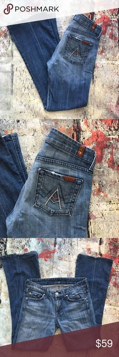 Seven for all mankind A pocket Seven for all mankind A pocket 26 x 29 7 For All Mankind Jeans Boot Cut