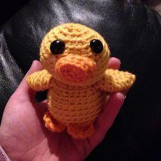 Mal the Tiny Duck (FreshStitches)