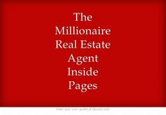 +The Millionaire Real Estate Agent Inside Pages