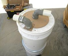 Mini Cyclone Bucket Dust Collector Free Download Keep your Lungs Healthy. If you are involved in woodworking by now you know that every woodworking workshop no matter how small it is needs a dust collector. Many say that the heart of a woodshop is the table saw, others say, it's their router table, band saw, planer... and so on. Which ever it is, one thing is for sure, the lungs of every woodshop is the dust collector.