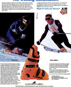 Alpine Skiing, Snow Skiing, Ski Equipment, Vintage Ski, Ski Boots, Ski And Snowboard, Kite, Olympics, Nostalgia
