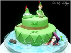 peter pan birthday cake - Google Search