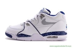 Leather Branco/Azul Nike Air Flight 89 306252-114