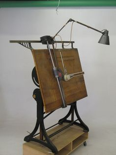"""ARCHITECTS VINTAGE DRAWING BOARD TECHNIQUE """"ZUCOR"""" 