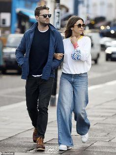Jamie Dornan And Wife, Kelly Macdonald, Natalie Cole, Christian Grey, Celebrity Look, New Wardrobe, Amelia, Cool Style, Photos
