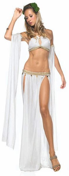 Sexy Greek Goddess of Love Costume - Mr. Costumes More