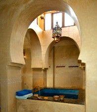 Aussergewöhnliche Hotels: Kasbah du Toubkal, Wellnessbereich