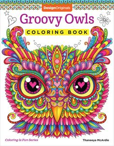 AmazonSmile: Groovy Owls Coloring Book (Coloring Is Fun) (9781497202078): Thaneeya McArdle: Books
