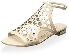 Excellent ! Carolinna Espinosa Women's Starks Sandal, Beige colors available