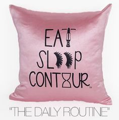 DAILY ROUTINE DECORATIVE PILLOW