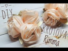 Diy Hair Bows, Diy Bow, Shabby Chic Wreath, Ribbon Embroidery, Fabric Flowers, Girl Hairstyles, Fabric Flower Tutorial, Ribbon Bows, Head Bands