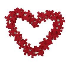 Puzzle Magnet. Give someone a piece of you heart!