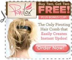 ponilox updos for long hair