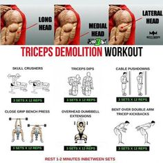 Triceps Demolition workouts tutorial