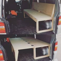 10 Camper Van Bed Designs For Your Next Van Build One of the most unique bed designs I have seen. This is perfect for a camper! I love this little van hack to make both a bed and a seat! 10 Camper Van Bed Designs For Your Next Van Build One of the most … Camping Diy, Truck Bed Camping, Minivan Camping, Camping Hacks, Tent Camping, Camping Gear, Camping Supplies, Camping Essentials, Station Wagon