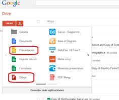 Crea y aprende con Laura: Google Drive añade en sus Presentaciones y Dibujos...