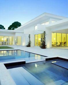 quel type d'architecture choisir pour la maison, architecture minimaliste