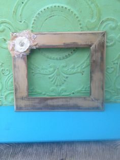 Shabby Chic Home Decor Frame by SassySouthernCharm