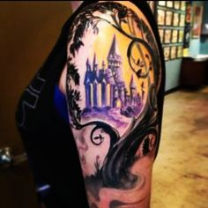 awesome New Top 100 Harry Potter Tattoo   Hogwarts it's the best school ever!! ❤   http://4develop.com.ua/new-top-100-harry-potter-tattoo-2/ Check more at http://4develop.com.ua/new-top-100-harry-potter-tattoo-2/