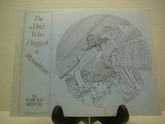The Thief who Hugged a Moonbeam 1972 Harold by VintageBookMarket, $9.75