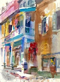 Kenneth Potter | Watercolor painter | Tutt'Art@ | Pittura * Scultura * Poesia…