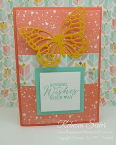 Butterfly Basics, Butterflies Thinlits, SAB, Sale-a-bration 2015, Occasions catalogue, Best Year Ever DSP, Rebecca Scurr - Stampin' Up! Independent Demonstrator - www.facebook.com/thepaperandstampaddict