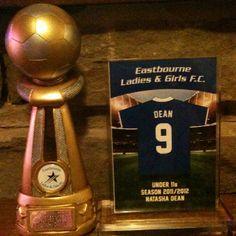 Eastbourne Girls U11s Players Player Award