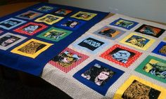 Quilts made for a coworker with twin grandsons on the way...the Daddy wanted Star Wars! by Terri Reveles