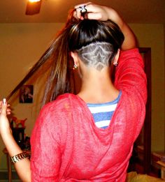 Undercut! If I ever shaved my head it would have to be dope like this!