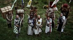 Monty python and the Holy Grail - photograph treatment.