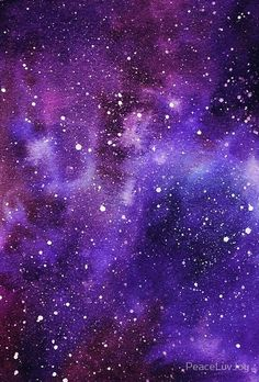 Melted Crayon Art Galaxy 1 by AsaGalaxy on Etsy Galaxy Painting, Galaxy Art, Galaxy Space, Galaxy Background, Photorealism, Purple Aesthetic, Deep Space, Milky Way, Galaxy Wallpaper