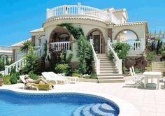 Spanish villas | Spanish Villa Exterior Design | Architectural Design and Decoration