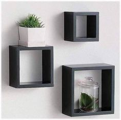 Floating Shelves Kitchen Industrial how to build floating shelves bathroom.Floating Shelves Above Couch Apartments. Floating Cube Shelves, Cube Wall Shelf, Wall Cubes, Floating Shelves Bedroom, Rustic Floating Shelves, Wall Shelves, Floating Wall, Wall Storage, Glass Shelves