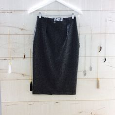 Pencil Skirt grau www.inesp.de