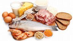 Las proteínas aumentan la masa y la fuerza de nuestros músculos. Constituyen los músculos, los tendones, los órganos y la piel. Entre los alimentos ricos en proteínas se encuentran: los huevos, aves,  pescados, carnes, productos lácteos, soja, frutos secos, champiňones, legumbres y cereales.