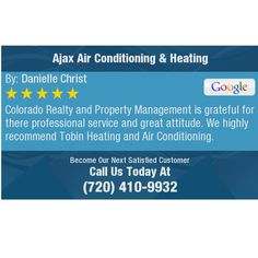 Colorado Realty and Property Management is grateful for there professional service and...